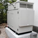 非常用自家発電機設備設置工事